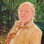 Retrato al óleo de Georgeta