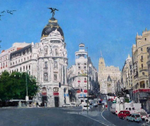 Cuadros al oleo de Madrid