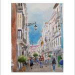 La calle ancha, Cádiz