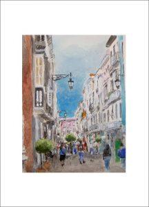 La calle ancha de Cádiz