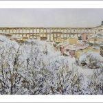 Cuadro del acueducto de Segovia