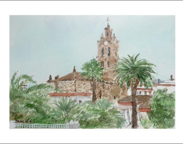 Cuadro de la iglesia de Almendralejo, Badajoz