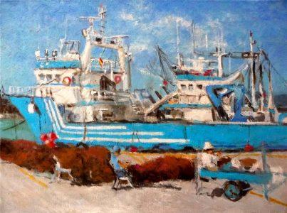 Cosiendo las redes en el puerto