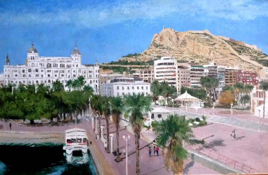 Cuadro de Alicante