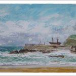 Marina de la playa del Camello en Santander