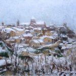 Paisajes que deja el invierno | Oleos y Acuarelas.