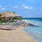 Marina de la playa de Tulum, Riviera Maya, México