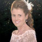 Retrato de una novia pintado por encargo