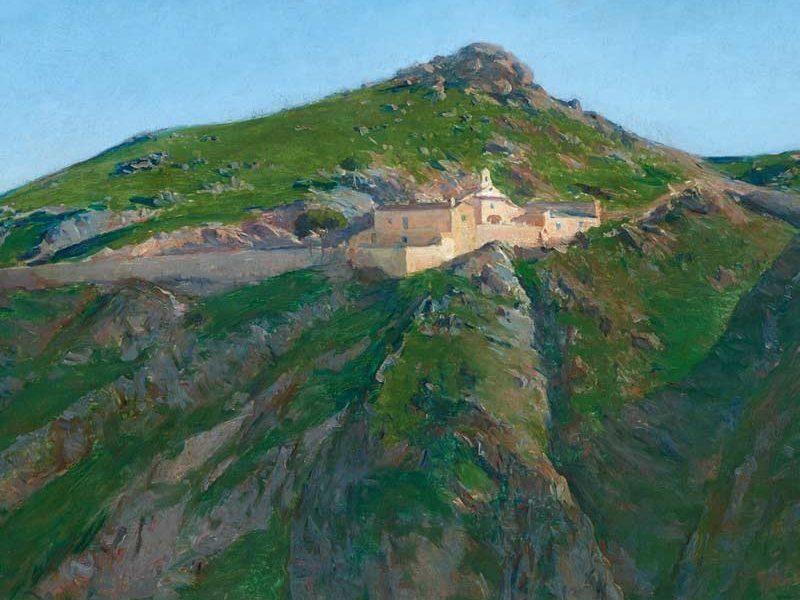 Paisaje de Toledo. Aureliano de Beruete