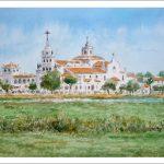 Paisaje de El Rocío, Almonte, Huelva