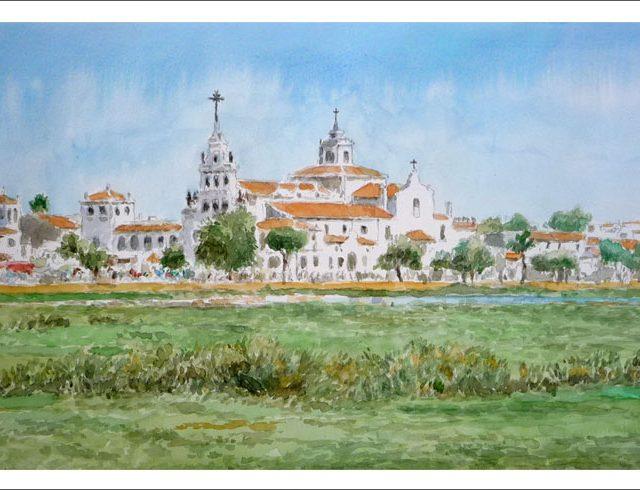 Cuadro del El Rocío, Almonte, Huelva