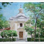 Acuarela de la Ermita de San Antonio de la Florida