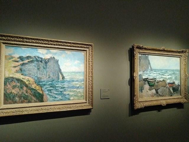 Exposición de Monet y Boudin en el Museo Thyssen de Madrid.