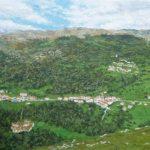 Paisaje del valle de Miera, Cantabria