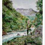 El río Cares, Peñamellera, Asturias