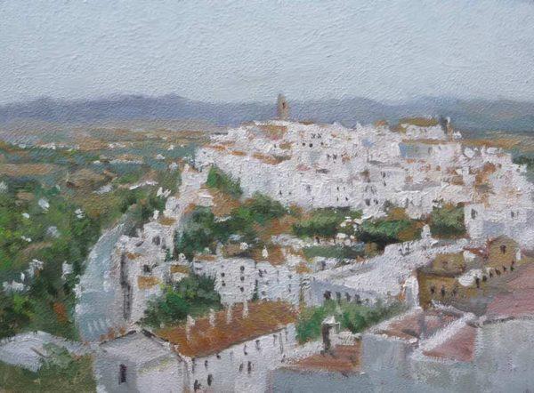Paisaje de Vejer de la Frontera, Cádiz