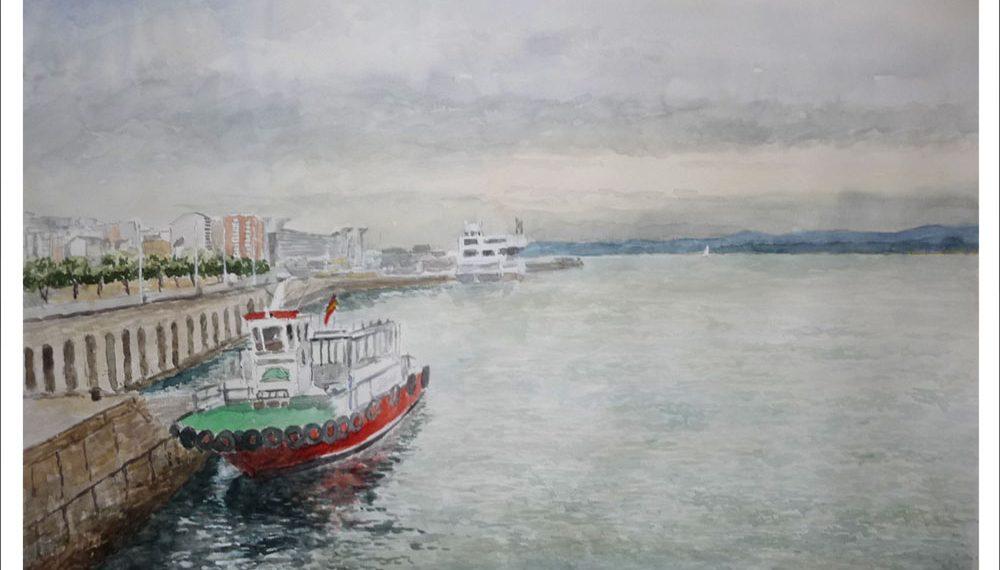 Cuadro de la Pedreñera en Santander.