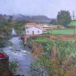 El río Miera a su paso por Liérganes, Cantabria