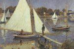 El Sena en Argenteuil, Pierre-Auguste Renoir