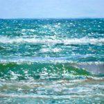 Marina del Mediterráneo con luz de Levante