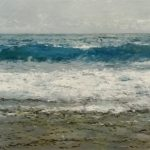 Marina al oleo. Mar Cantábrico