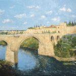 El puente de San Martín en Toledo