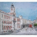Cuadro de la Puerta del Sol de Madrid