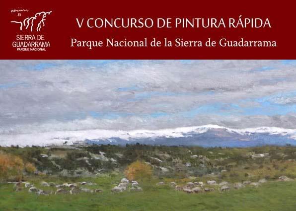 V Concurso Pintura Rápida Parque Nacional Sierra de Guadarrama