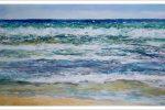Marina en acuarela del Mar Mediterráneo