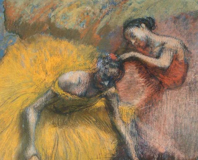 Bailarinas. Edgar Degas