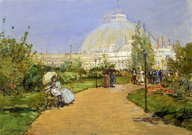 Pabellón de Horticultura. Childe Hassam