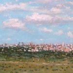 Paisaje panorámico de Madrid