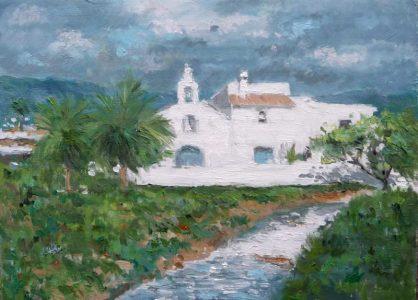 Oleo de Sant Francesc de s'Estany, Ibiza