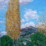 La Pedriza de Manzanares. El chopo amarillo.