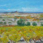 El viñedo amarillo en La Rioja